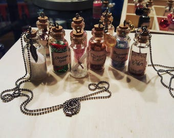 Novelty charm necklaces