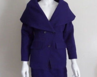 Giorgio Saint Angel Shawl Collar Ensemble | Vintage 80's 90's