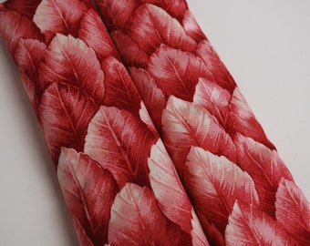 Seatbelt covers car 1 pair Red leaves pattern seatbelt covers