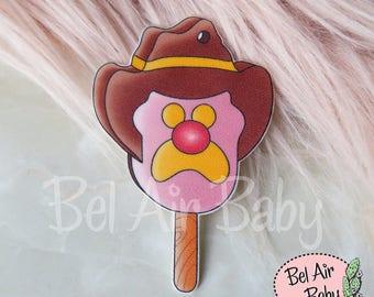Bubble O' Bill ice cream Brooch or Fridge Magnet / Pin / Vintage / Retro / Pop Culture