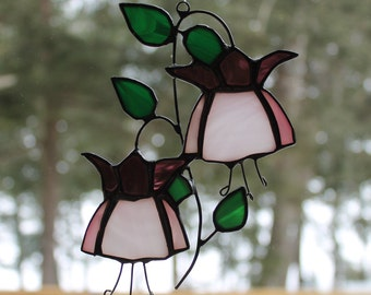 Stained Glass Fuchsia
