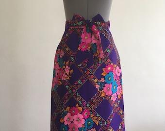 Alex Colman silk lined beautiful Maxi skirt