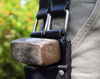 Leather Hammer Holster for Tool Belt