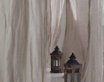 Canopy bed curtains | Etsy