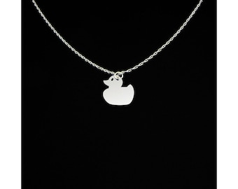 Duck Necklace - Duck Jewelry - Duck Gift - Rubber Ducky Jewelry - Rubber Ducky Gift