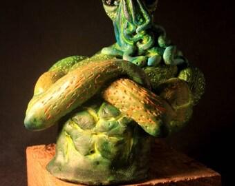 SALE! Cthulhu Overlord Polymer Clay figurine