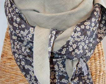 MAXI scarf/shawl liberty of london / linen