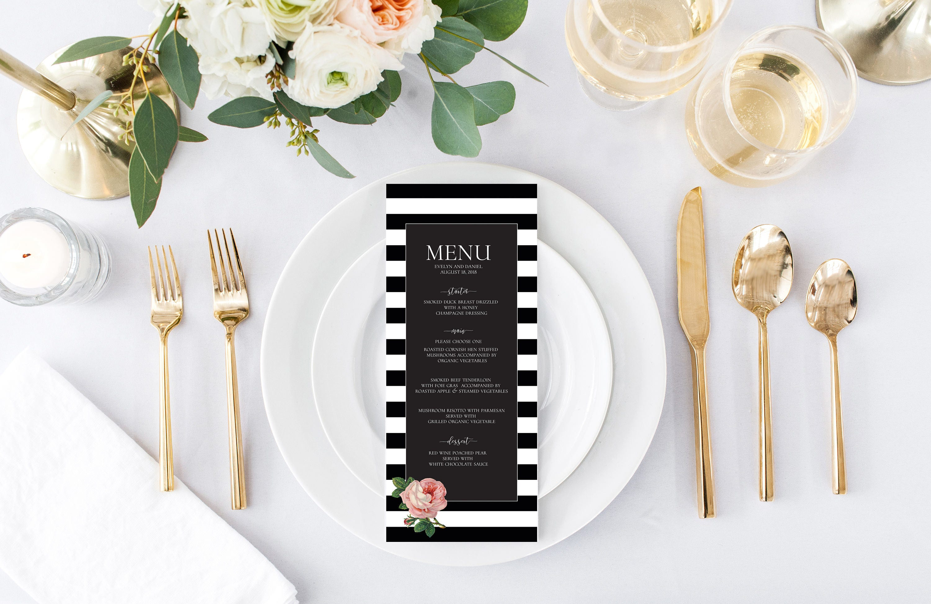 Perfect Chocolate And Champagne Wedding Theme Picture Collection ...