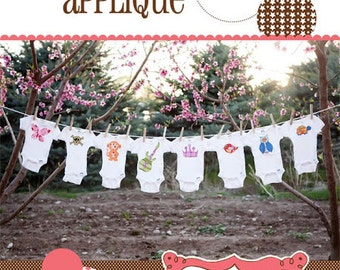 Abbie Applique Sewing Pattern by Izzy & Ivy