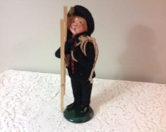 The Carolers Buyers Choice Chimney Sweep Boy 1991 Vintage Boy