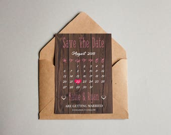Customised Save The Date Cards