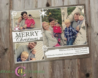 Family Holiday Card - Merry Christmas