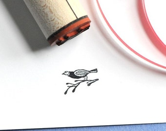 Song Bird Rubber Stamp