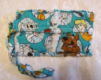 Scooby Doo inspired Clutch bag Cell Phone Case Scooby Doo inspired Wristlet Gift for Girls Gift For Her