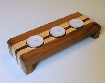 Handmade Tea Light Candle Holder