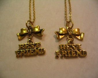 Best Friend Necklace Set for Friends Sisters or Mother Daughter Jewelry