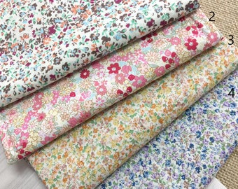 1 x fabric coupon liberty 50x110cm cotton flower child baby couture