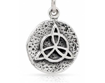 Protection Amulet Charm Sterling Silver 18.5x12mm - 1pc  25% Discounted (8297)/1