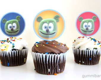 Gummibär The Gummy Bear Cupcake Toppers Birthday Party