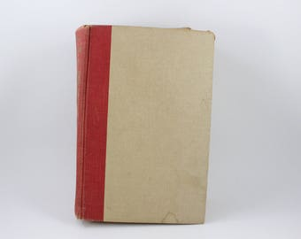 Vintage 1950 Red and Tan Hardback Book The American Family Cook Book