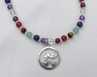 Chakra OM Necklace to balance the Chakras