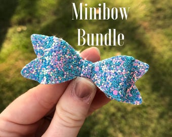 Mini bow bundle deal
