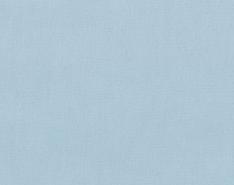 BELLA SOLIDS - Bunny Hill Blue - Solid Blender Cotton Quilt Fabric - from Moda Fabrics - 9900-176 (W2290)