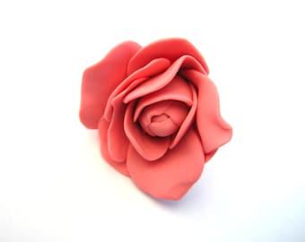 Rose Christmas Ornament - Rose Ornament - Rose - Christmas Ornament - Pink Rose