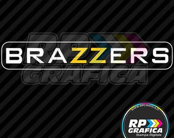 Self adhesive 20 cm Brazzers motorcycles and scooters