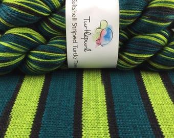 Absinthe - Hand-Dyed Self-Striping MCN Sock Yarn