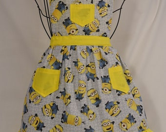 Minion #1- Child Apron