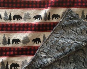 Rustic Faux Fur- Bears