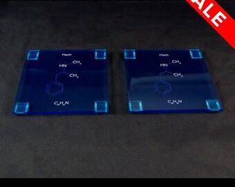 Meth Molecule (Breaking Bad inspired) Coasters