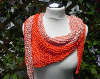 Cloth knitted scarf summer scarf with silk Schaltuch cotton hand Knitted