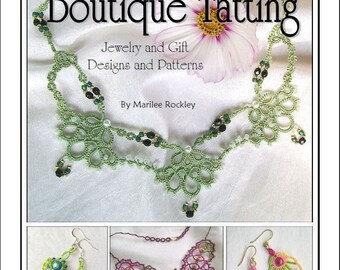 "Shuttle tatting eBook ""Boutique Tatting"" PDF Instant Download"