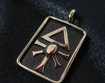 Bronze Eldar pendant
