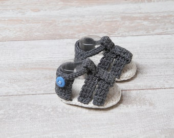 Newborn boy sandals. Baby boy crochet summer Sandals, baby boy crochet shoes, baby boy sandals, boy crochet shoes for summer