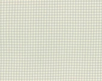 Durham by Lecien 2017  Checkered Print Pale Blue and Cream 31475-77