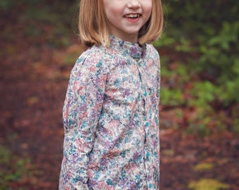 Muttonchop: Top and Dress pdf pattern sizes 2-12