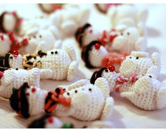 SNOWMEN / CHRISTMAS DECORATIONS
