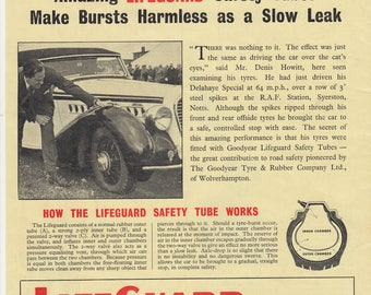 Vintage Car Advertising Good Year Tyres date 29 July 1953 (94)