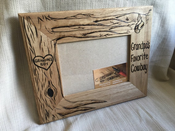 Fathers gift, dad frame, father frame, cowboy frame, , cowboy baby ...