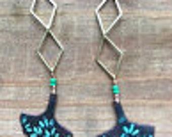 Ginkgo delight earrings