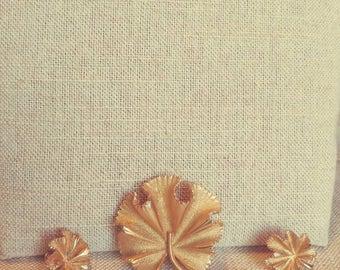 Coro Earring Pin and Brooch Set