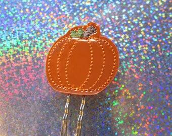Pumpkin (Shiny) Planner Clip