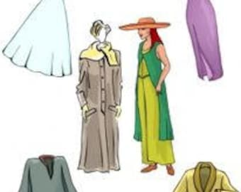 How To Make Full Figure And Plus Size Specialty Clothing Patterns - PDF downloadable pattern making class