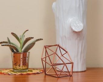 Himmeli Figure 4 || The Geometric Diamond Sculpture || Modern Minimalist Geometric Art