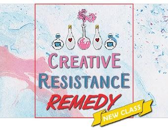 Creative Resistance Remedy Workshop by Jennibellie
