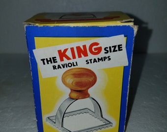 Vintage King Size Ravioli Stamp Made in Italy NIB
