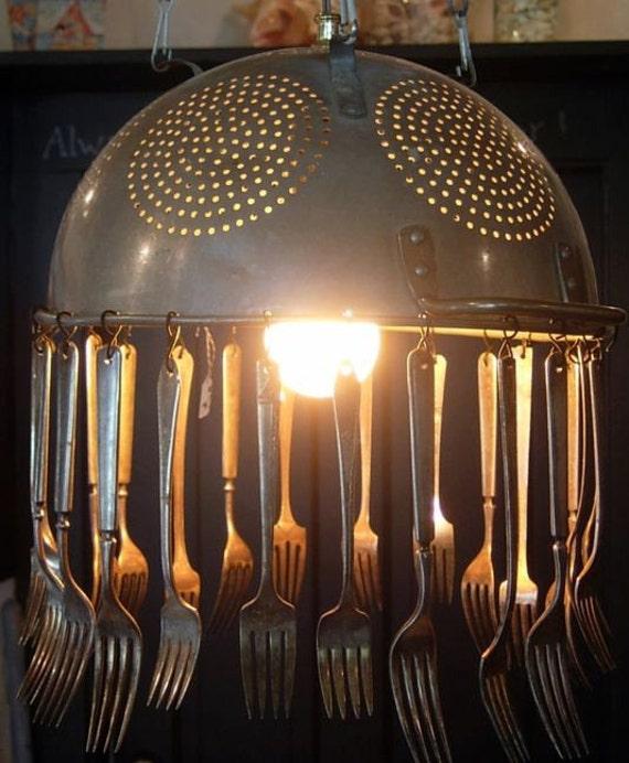 Colander and Utensil Light